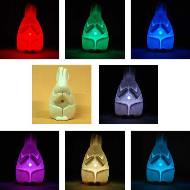 7色に光る信楽焼「信楽透器」